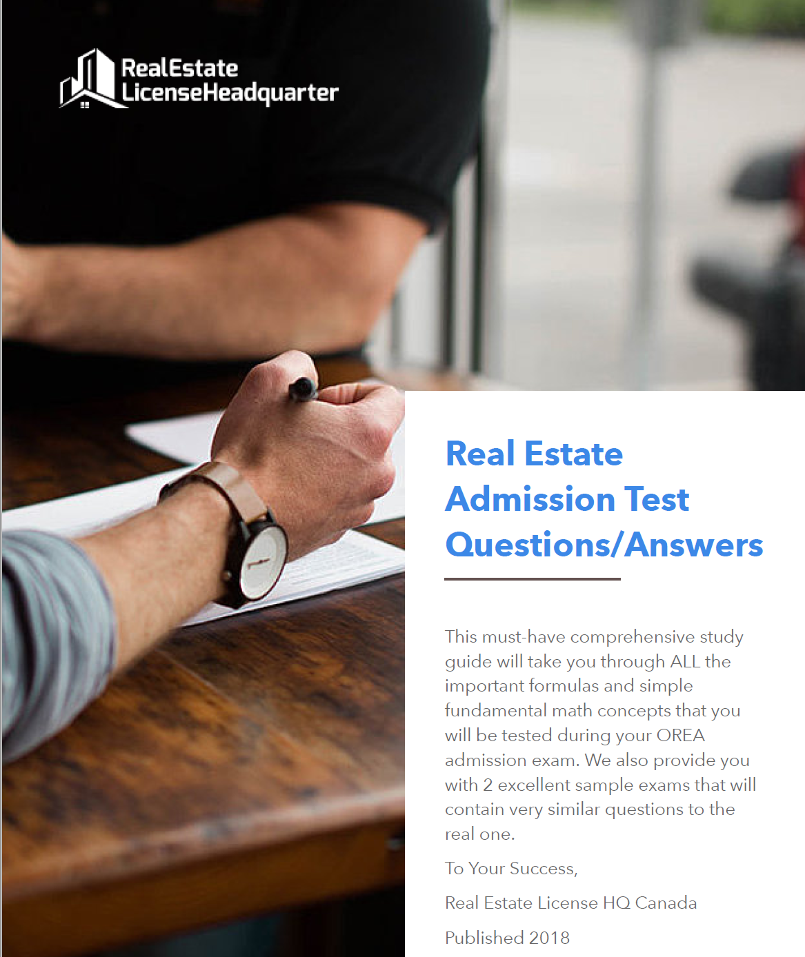 Free OREA admission test study guide